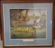 NEW YORK GRAPHIC SOCIETY 1947 - FOREST SECRETS, TOLD BY THUMPER TO BAMBI
