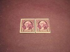 US Stamp Scott# 721 Washington Line Pair MNH  C163