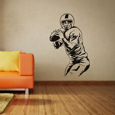 Sport Football Player Vinyl Wall Stickers Removable Waterproof Poster Wallpaper