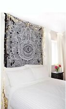 Fatima Hand Indian Tapestry Wall Hanging Mandala Hippie Tapestries Throw