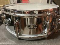 Slingerland 70's Vtg 14 x 6 Snare Drum Niles Illinois USA,Drum,Sticks,Stand,Case
