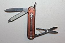 VICTORINOX Swiss Army Knife Classic SD Onyx Translucent Brown  (UDV615)