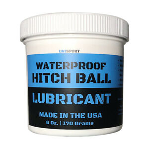 Trailer Hitch Ball Lubricant - Waterproof Grease to Reduce Wear and Friction