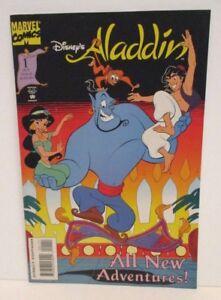 WALT DISNEY MARVEL COMIC BOOK ALADDIN GENIE JASMINE ABU OCTOBER ISSUE 1994 #1