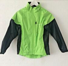 MuddyFox Kids Green and Black Rainproof  Cycling Jacket. Age 9-10 YRS.