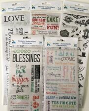 Momenta Vellum Message Stickers for Scrapbooking, Stamping, Paper Crafts, Gifts