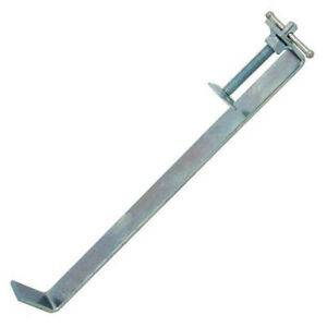 """300mm 12"""" Profile Clamps Brick Laying Bricklaying Builders T Bolt Screw CA136"""