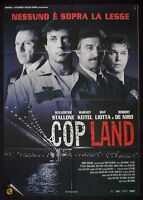 M104 Manifesto 2F Cop Land Sylvester Stallone Harvey Keitel Liotta R. De Niro