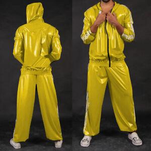 100% latex suit rubber Sports Suit Uniform Catsuit Rubber Full Suit Party S-XXL