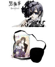 Anime Black Bulter Black Eye Patch Single-Eyed Ciel Phantomhive Cosplay Prop 4cm