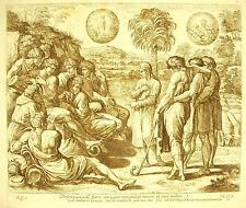 Les songes de Joseph dream XXXVII La Bible Nico Chaperon 1649 ap Raphaël Vatican