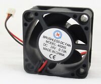 10 x Brushless DC Cooling Fan 40x40x20mm 4020 5 blades 24V 2pin 2.54 Connector