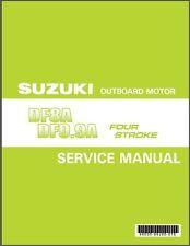 Suzuki DF8A DF9.9A Outboard Motor Service Repair Manual CD .. DF 9.9 8 A
