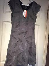 MERRELL Opti-Wick charcoal burn. Alexandra dress leaf print travel active  M NWT