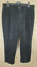 POLO by RALPH LAUREN Men's Black Cords Size: W 38 L 30 VERY GOOD Condition
