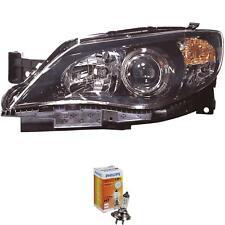 Phares droit pour Subaru Impreza GT Année de construction 08-10 Noir h7+hb3 Incl. Lampes