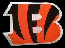 "CINCINNATI BENGALS NFL FOOTBALL HUGE 13.75"" TEAM LOGO PATCH"