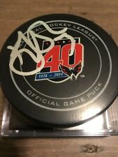 TJ Oshie  Washington Capitals Signed Official Game  puck