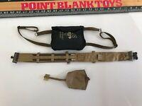 1//6 battle gear toys etui dagger m46-265 01 black leather-wwii indochina