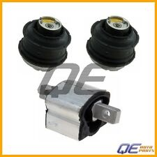 Mercedes W216 W221 CL63 AMG S63 AMG Set of 2 Engine Mounts and Auto Trans Mount