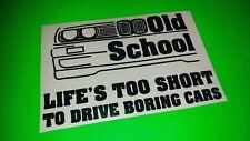 Old School BMW Cool Voiture, Pare-chocs, Fenêtre Autocollant/Autocollant
