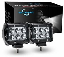 Mictuning CREE LED luce per bar Spot 4x4 OFF ROAD TRAVI FARI NAUTICA