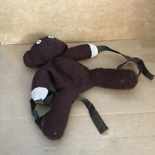 Mr Bean Teddy Mr Bean Back Pack Pyjamas Bag Straps Brown 1998