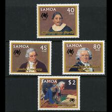 SAMOA 1987 Australian Settlement. SG 758-761. Mint Never Hinged. (AX136)