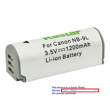 Kastar Replacement Battery for Canon NB-9L CB-2LB & Canon Powershot ELPH 520 HS