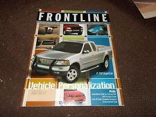 2002 FORD FOCUS SE SEDAN F-150 SUPERCAB MODEL INTRODUCTIONS FRONTLINE MAGAZINE