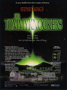 THE TOMMYKNOCKERS__Original 1993 Trade print AD promo__STEPHEN KING__Traci Lords