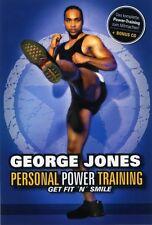 "GEORGE JONES ""PERSONAL POWER TRAINING MIT..."" DVD NEU"