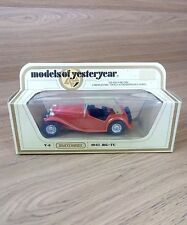MATCHBOX MODELS OF YESTERYEAR Y8-4 1945 MG ISSUE 13*