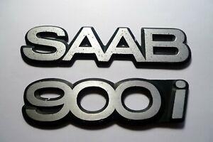 Logo d'origine SAAB  900 I  Monogramme - Emblème - Emblem ancien