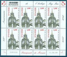 MONACO - Feuille N° 2700 - Feuille de 8 Timbres Neufs // 2009 - HORLOGE BIG BEN