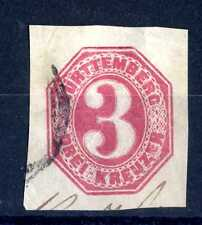 GERMAN STATES - WURTTEMBERG - GERMANIA ANTICHI STATI - 1884 - Intero post. E1004
