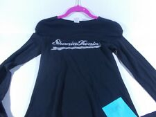 SHANIA TWAIN CONCERT Up!  TOUR SHIRT- BLACK  purple  GLITTER ladies large /med