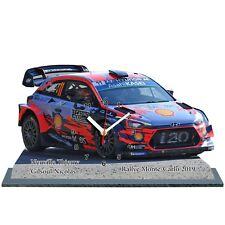 NEUVILLE, Rallye Monte Carlo 2019,Hyundai i20 WRC, en horloge miniature 01