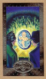 Superman Man Of Steel Platinum Collectors Embossed Card 06