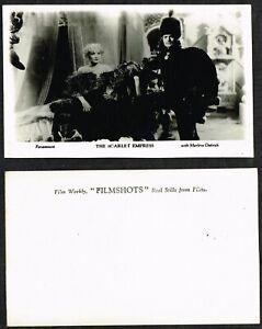 FILM WEEKLY - 'Filmshots' 1934 Sets of 4 Postcard Size Cards #4