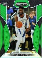 2019-20 Panini Prizm Draft Picks JAYLEN NOWELL Green Prizm RC