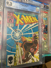 Uncanny X-Men #221 - CGC 9.2 NM+ WP! 1st App. Mister Sinister! Very Nice Clean