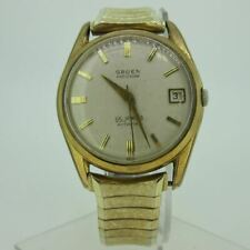 Vintage Gruen Guild Precision Automatic 665 SSCA GT and Stainless Steel Watch