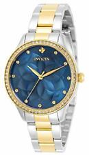 Invicta Women's 30719 Wildflower Quartz 3 Hand Blue Dial Watch