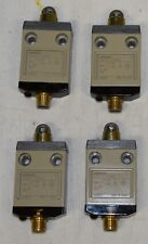 Omron D4CC-4002 Plunger Style Limit Switch SPDT 1A at 30VDC 4 pin plug Lot of 4
