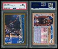 1992 Fleer #401 Shaquille O'Neal Rookie RC PSA 10 Gen Mint HOF Magic Lakers Shaq