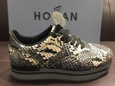 HOGAN Donna sneaker 222 in pelle stampa pitone SCONTO 50%