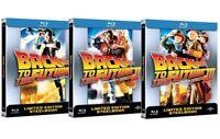 BACK TO THE FUTURE TRILOGY STEELBOOK (3 BLU-RAY) 3 Box Ritorno Al Futuro