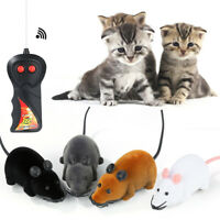 Wireless Remote Control RC Electronic Rat Mouse Mice For Pet Cat Puppy Toy Gift