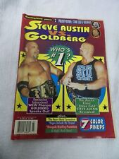 Wrestling World Presents Steve Austin vs Goldberg Magazine March 1999